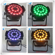 4xlot Best price led par64 light 24x18w led par light ce rohs led stage lighting