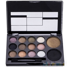 14 Colors Makeup Shimmer Eyeshadow Palette Cosmetic Neutral Nude Warm Eye Shadow  6ZI6 7GRU 8TPX