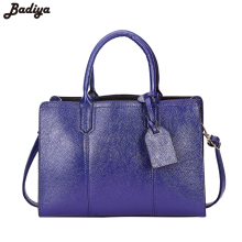 New 2017 Leather Bags for Women Shoulder Bag Crossbody Business Tote Office Lady Borse Dress Handbags and Purse Bolsas Femininas