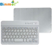Ultra Slim Aluminum Wireless Bluetooth Keyboard For IOS Android Windows PC DEC05