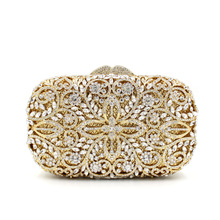 BL038 Luxury diamante evening bags colorful clutch bags women party purse dinner bags crystal handbags gemstone wedding bags(China)