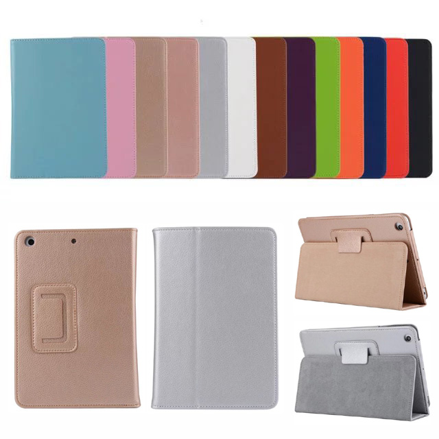 Ultra Slim Litchi Folio Stand PU Leather Cover Magnetic Smart Sleep Case For Apple Ipad 2 3 4 Air Air2 Pro 9.7 12.9 Mini 1 2 3<br><br>Aliexpress