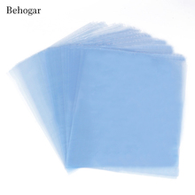 Behogar 300Pcs/Set 4.72 x7.09inch PVC Shrink Wrap Film Bag Heat Seal Pack Gift Packing for Soaps Bath Bombs Handmade DIY Crafts(China)