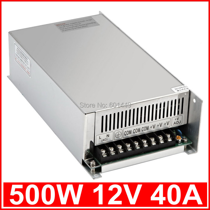 Factory direct&gt; Electrical Equipment &amp; Supplies&gt; Power Supplies&gt; Switching Power Supply&gt; S single output series&gt;S-500W-12V<br>
