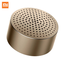 Original Xiaomi Portable Bluetooth Speaker Mini Metal Steel Speakers Smart Hands Free Speaker Wireless Audio Speaker Light Music )