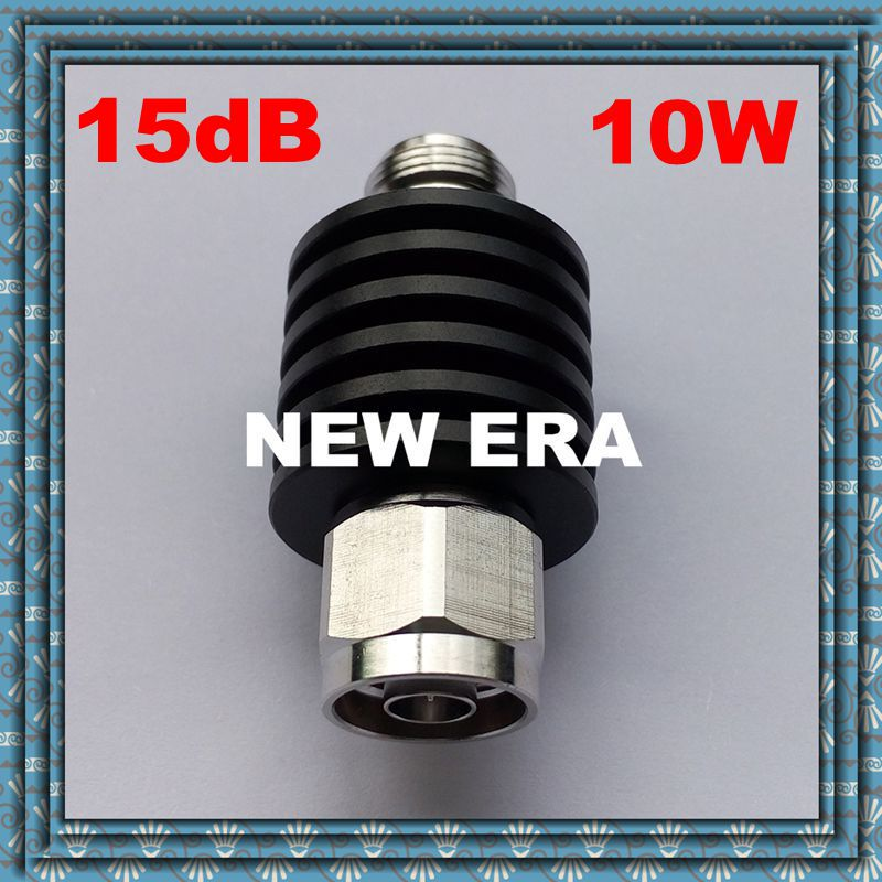 10W RF Attenuator Coaxial DC-3GHz N-type 15dB,Free Shipping<br><br>Aliexpress