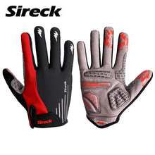 Sireck Brand Cycling Gloves Full Finger GEL Cushion MTB Road Sport Bike Gloves Breathable Bicycle Gloves Luva Ciclismo Mittens