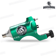 1 pcs Rotary Tattoo Machine Dragonhawk Tattoo Machine Gun Strong Quiet Motor Supply Liner and Shader RCA Clip Cord