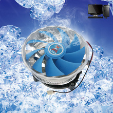 DC 12V 3 PIN Silent CPU Cooler Cooling Fan Heatsink Support for Intel/AMD Desktop PC C26