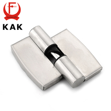 KAK Bathroom Partition Stainless Steel Door Hinge Automatic Lift Hinges For Public Toilets Hardware