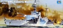 "Trumpeter 1/350 scale model 05335 Royal Navy ""Roberts"" shallow water heavy gun ship"