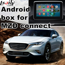 Android 4.4 5.1 GPS navigation box for new Mazda 2 3 6 CX-3 CX-5 CX-9 MX-5 with cast screen youtube google play video interface(China)