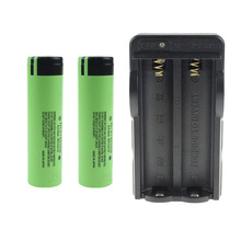 Rechargeable Battery Power Bank 2pcs*18650 Li-ion Real Capacity 3400mAh Panasonic +18650 Double Charger - Well,Z,Y, Store store