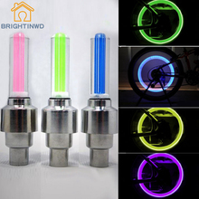 NEW LED Flashlight  torch waterproof led Motorcycle Cycling Bike Bicycle Wheel Tire Valve flashing Light Car Lamp