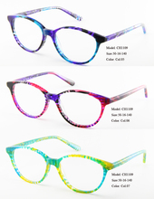 Eye wonder Factory Outlets Wholesale High Quality Women's Oval & Round acetate optical Frames Glasses with clear lens(China)