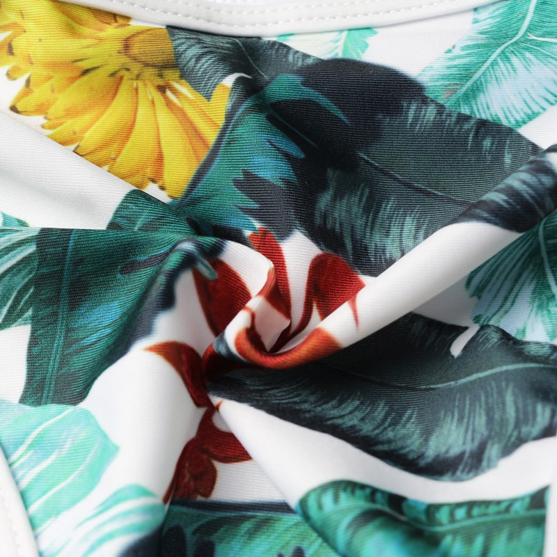 Topmelon 17 New Sexy Bikinis Micro Swimwear Floral Print Colorful Push Up Beachwear Bathing Suit Bikini Sets Women Swimsuit 12