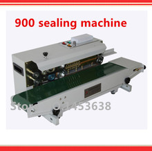 Automatic continuous Band Sealer, Heat plastic bag Sealer, sealing machine, suitable for plastic bag and aluminum bag(China)