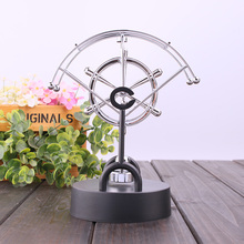 Creative electric perpetual wiggler ornament,Newton pendulum ball never stop home office accessories Christmas  Decoration NC-CD