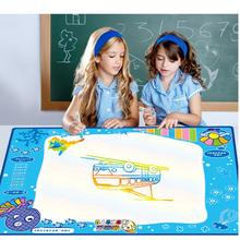 100cmX70cm Water Drawing Mat with Magic pen Aqua Doodle Drawing Toys Educational toys for children drawing board
