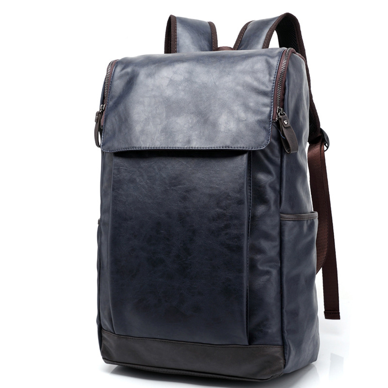 MAIWEINI Mens Travel Bag Man Backpack PU leather Bags Shoulder Bags Computer school Packsack Free Shipping<br>