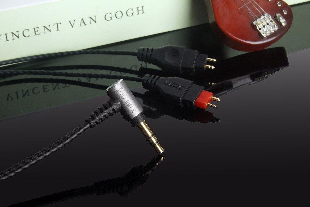 OCC Silver Plated Audio Cable For Sennheiser HD525 HD565 HD224 HD230 Headphone
