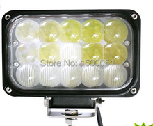 4pcs/lot High performance 4d lens high lumen 5 inch 45W Combo LED 12V led working light made in china for truck, SUV