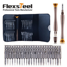 Flexsteel 25 in 1 Precision Screwdriver Set Torx Slotted Philips Repair Tools Kit for iPhone Samsung Galaxy Watch Laptop Opening