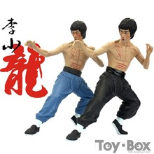 Movie The Complete Works Of Eternal Film Star Bruce Lee 35cm Toy PVC Action Figure Model Gift