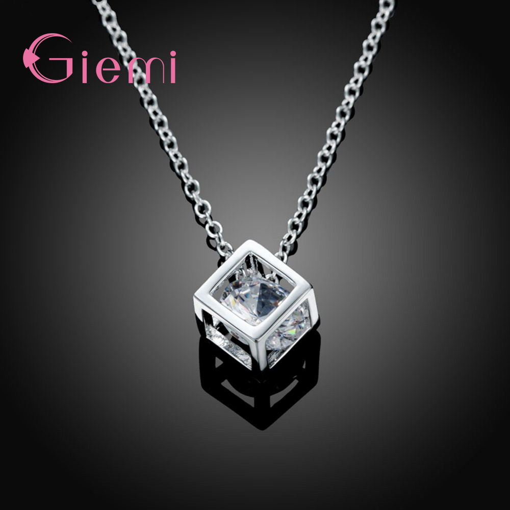 Simple-Style-Elegant-Women-Square-Shape-925-Sterling-Silver-Necklaces-New-Long-Cubic-Zirconia-Pendant-Fine (1)