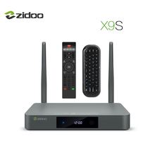 ZIDOO X9S ТВ Box для Android 6,0 Quad-Core Процессор HDMI 2,0 BT4.0 телеприставки 4 К HDR ИК-пульт дистанционного двухдиапазонный Wi-Fi 2 г + 16 г IP ТВ Media Player(China)