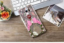 New Totoro Case For Asus Zenfone 3 ZE552KL Cute Cartoon Back Cover For Asus ZE552KL