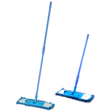 NEW Extendable minifibre Mop Cleaner Sweeper Wooden Laminate Tile Floor Wet Dry(China)