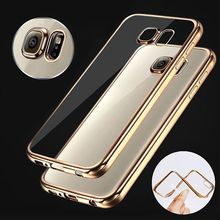 NEW Clear Crystal TPU Phone Case Cover for Samsung Galaxy S7 Edge NOTE 7 For iphone 6S 7 7Plus(China)