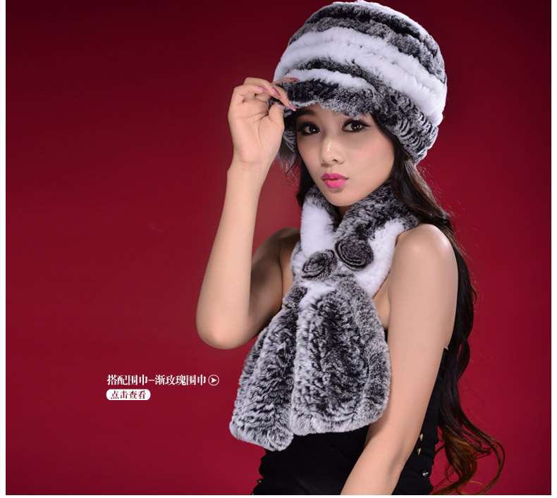 New Arrival 2017 Woman Real Rex Rabbit Fur Hat Fashion Knitted Casual Cap Winter Warm Headgear Beanies For Women Одежда и ак�е��уары<br><br><br>Aliexpress