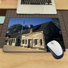 Houses Usa Cute Custom Dest Computer Gaming Mouse Pad for Size 18x22cm and 25x29cm