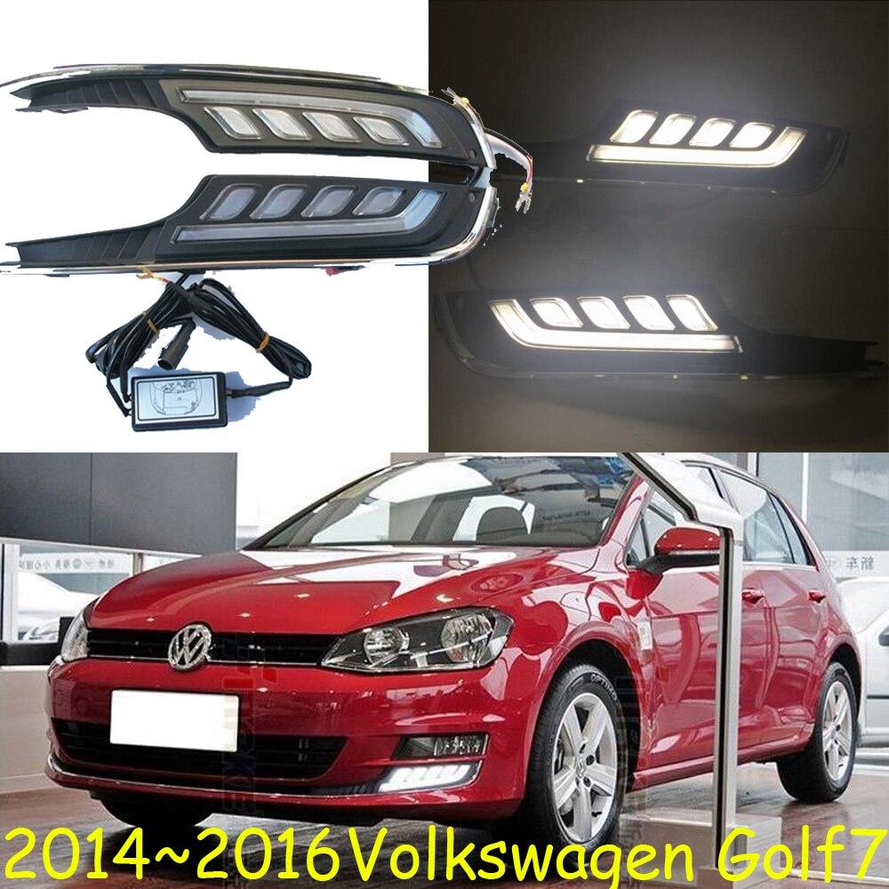 Car-styling,Golf7 daytime light,2011~2013/2014~2016,chrome,LED,Free ship!2pcs,Golf6 fog light,car-covers,Gol,Golf 6,Golf 7<br>