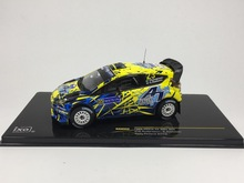 Special offer Ixo 1:43 FORD FIESTA RS WRC # 23 2013 Finland Rally Alloy car model Collection model Holiday gifts