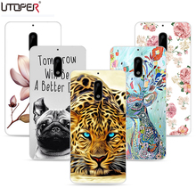 UTOPER Original Brand Painting Case For Nokia 6 Case Silicone Fashion Flower DIY Soft Case For Nokia 6 TA-1000 TA-1003 5.5 Cover(China)