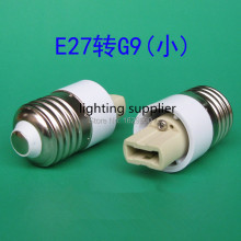 Free shipping 10pcs/lot E27 to G9 adapter converter g9 lamp holder CFL bulb holder adapter(China)