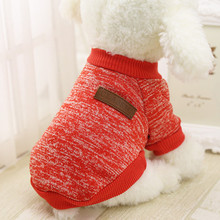 Dog Coat Round Neck Classic Pet Dog Puppy Sweater Fleece High Quality Clothes Dogs Pets Clothing Mascotas Ropa Perros #7314(China)