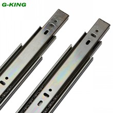 The concept of Qi three ball furniture drawer slide guide rail 45mm file cabinet rail track width(China)