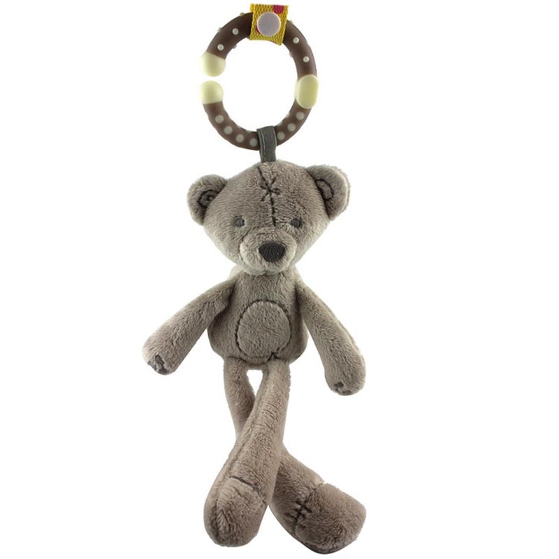 Baby-Soft-Animal-Hanging-Toys-On-Stroller-Rabbit-Bear-Comfort-Doll-Baby-Hand-Playing-Toy-Accessories