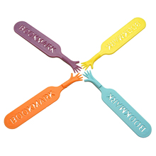 SOSW-1 Sets THE BOOK Novelty Bookmark Funny Bookworm Reading