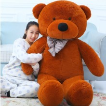 2017 BEAR Stuffed Toys Giant Jumbo Size:200cm Birthday Christmas Gift Large Big Teddy Bear Plush Toy