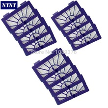 NTNT Free Post New 12 Piece Neato Filter Replacement Pack For XV-11 XV-12 XV-14 XV-15 XV-21 For Allergy Automatic Vacuum Cleaner