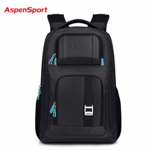 AspenSport Waterproof Laptop Backpack Multifunction Men Women Computer Notebook Bag 16'' Unique High Quality Business Laptop Bag