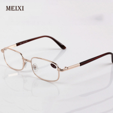 Men Women Reading Glasses Resin Lenses Presbyopia Alloy Frame Unisex Eyewear +0.5+0.75+1.25+1.75+2.25+2.75+3.25+3.75