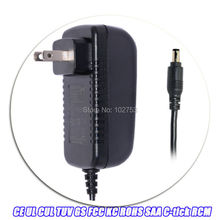 Free Shipping 12v 18v 24v 36w ac adapter US wall mounted 1.2m dc cable 5.5x2.1mm dc jack(China)
