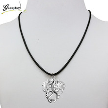 Vintage Dragon Shape Pendant Necklace For Men Women Jewelry Collares Bijoux Gift One Direction Cheap Harajuku Style Choker(China)