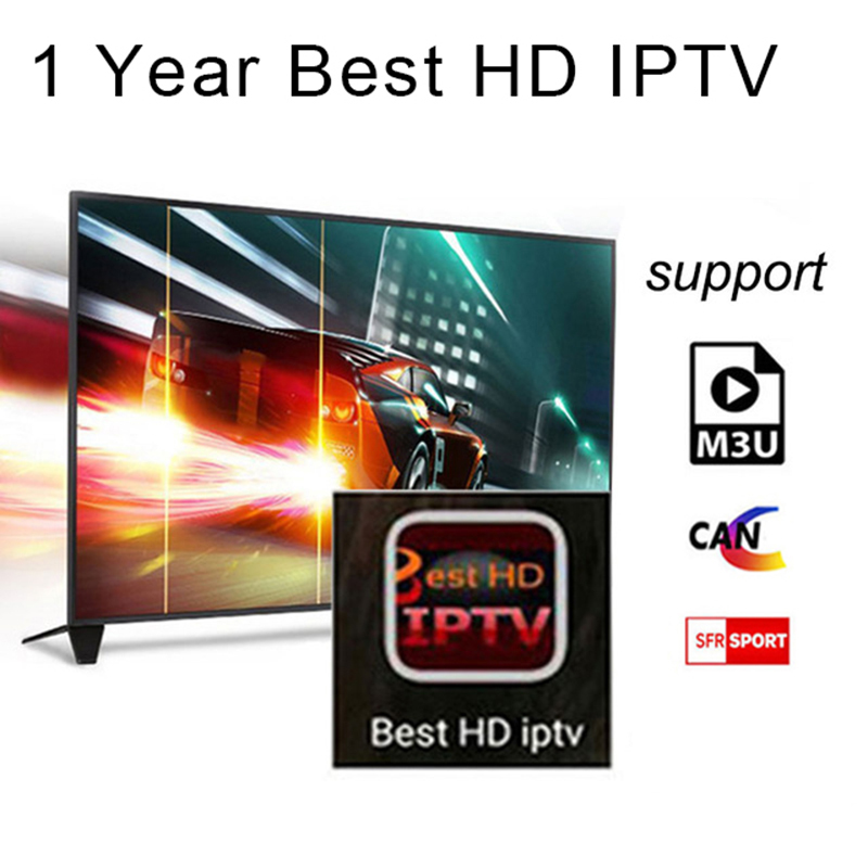 1 Year Arabic French UK Europe IPTV Italy code 1800+ Channels for Android USB Wifi TV Box<br>